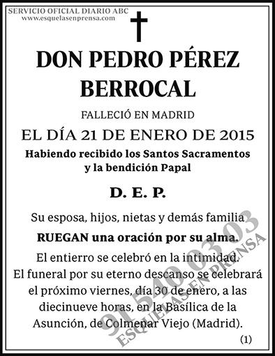 Pedro Pérez Berrocal